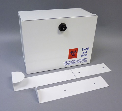 Laboratory Drop Box Duramark 174 Lock Box Therapak