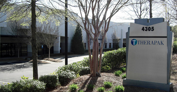 Therapak's Buford Georgia Facility